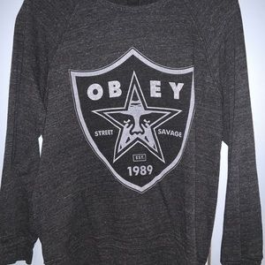 Obey lightweight sweatshirt